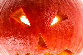 foto of jack-o-laterns-jack-o-latern  - close up shot of a small Jack - JPG