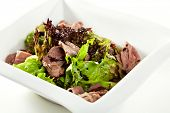pic of duck breast  - Breast of Duck Salad with Sauce - JPG