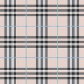 stock photo of kilt  - Seamless modern and trendy pink plaid pattern - JPG
