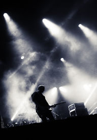 picture of rocking  - Rock concert stage - JPG