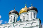 foto of trinity  - Classical Russian ancient religious architecture - JPG