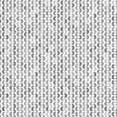 stock photo of symmetry  - Geometric vector pattern with grey triangles - JPG