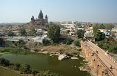 View Of Ancient Orchha  Town -popular Travel Destination Of Nothern India,madhya Pradesh poster