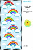 foto of riddles  - Visual puzzle or picture riddle for children - JPG