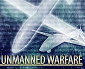 picture of drone  - Abstract background digital collage concept illustration unmanned warfare drone - JPG