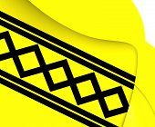 pic of west midlands  - 3D Flag of West Midlands England - JPG