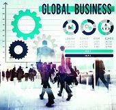 pic of enterprise  - Global Business International Growth Enterprise Concept - JPG