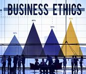 stock photo of honesty  - Business Ethics Honesty Ideology Integrity Concept - JPG