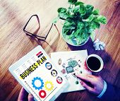 foto of objectives  - Business Plan Planning Strategy Development Objective Concept - JPG