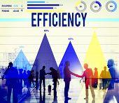 pic of efficiencies  - Efficiency Improvement Achievement Business Success Concept - JPG