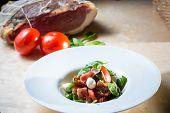image of vinegar  - Salad with strawberry - JPG
