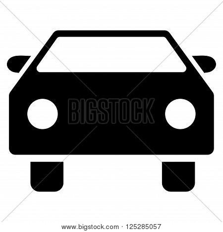 poster of Car vector icon. Car icon symbol. Car icon image. Car icon picture. Car pictogram. Flat black car icon. Isolated car icon graphic. Car icon illustration.