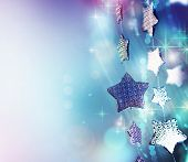 Abstract Christmas background.Holiday abstract background