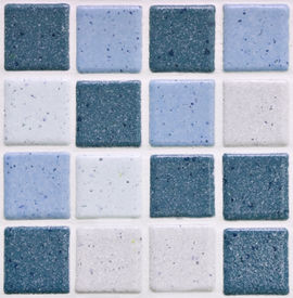 picture of ceramic tile  - colorful modern mosaic tile in a bathroom - JPG