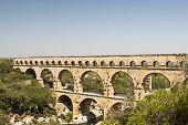 The Roman Aquaduct - Pont Du Gard
