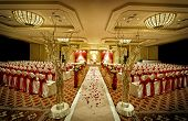 foto of vedic  - Image of a colorful Indian wedding mandap - JPG