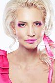 picture of bimbo  - Portrait of model in doll - JPG