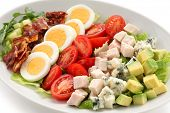 image of romaine lettuce  - cobb salad - JPG