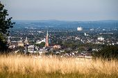stock photo of bonnes  - View on a city of Bonn from Kreuzberg hill Germany - JPG