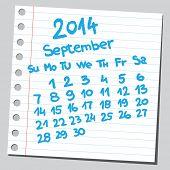 picture of thursday  - Calendar 2014 september  - JPG