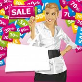 foto of chatterbox  - Sale concept - JPG