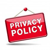 picture of personal safety  - privacy policy terms of use for data and personal information protection - JPG