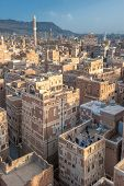 Panorama Of Sanaa, Yemen