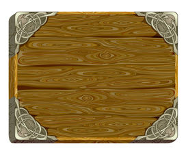 picture of wild west  - board this illustration may be useful as designer work - JPG