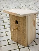 Small Birdhouse From Boards