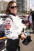 LONG BEACH - APR 1: Tricia Helfer at the 37th Annual Toyota Pro/Celebrity Race Practice Day on April