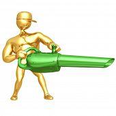 image of leaf-blower  - Leaf Blower - JPG