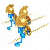 picture of hoplite  - Spartans - JPG