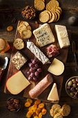 picture of fruit platter  - Fancy Meat and Cheeseboard with Fruit as an Appetizer - JPG