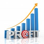 picture of profit  - Target profit growth chart - JPG