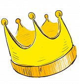 picture of crown jewels  - Simple crown icon - JPG