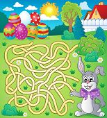 picture of tame  - Maze 4 with Easter theme  - JPG