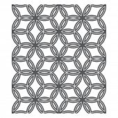 pic of chain link fence  - Oriental Pattern - JPG