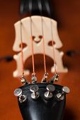 stock photo of cello  - detail close up image of a classical instrument cello - JPG