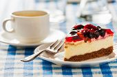 pic of dessert plate  - Dessert background  - JPG
