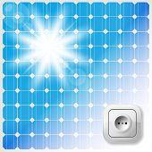 pic of electric socket  - Solar Panel - JPG