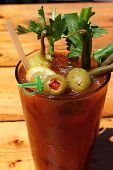 image of bloody mary  - Bloody Mary with Olives - JPG