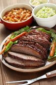 pic of texas  - barbecue beef brisket - JPG