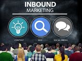 picture of  media  - Inbound Marketing Commerce Content Social Media Concept - JPG