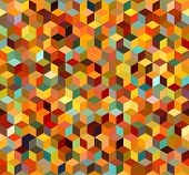pic of color geometric shape  - Colorful Seamless Triangle Abstract Background - JPG