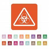 pic of biohazard symbol  - The biohazard icon - JPG