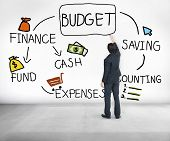 picture of cash  - Budget Finance Cash Fund Saving Accounting Concept - JPG