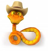 foto of jungle snake  - Fun snake - JPG