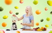picture of fruit shake  - healthy eating - JPG