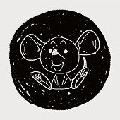 pic of mouse trap  - Chinese Zodiac Mouse Doodle Drawing - JPG