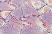 stock photo of ten  - Ten Hong Kong dollar banknote - JPG